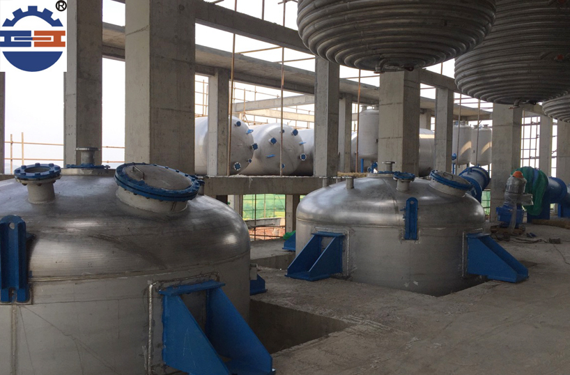 不锈钢反应釜工程