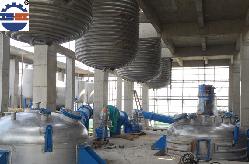 不锈钢反应釜工程案例