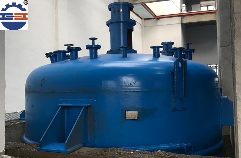 电加热反应釜安装
