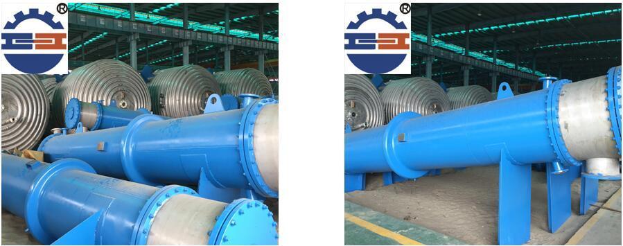 不锈钢列管冷凝器案例