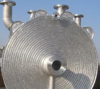 不可拆式螺旋板换热器