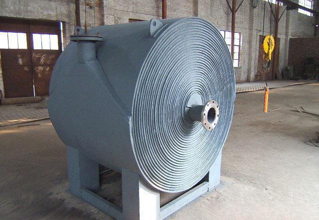 螺旋板式换热器清洁