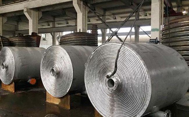 螺旋板换热器结构