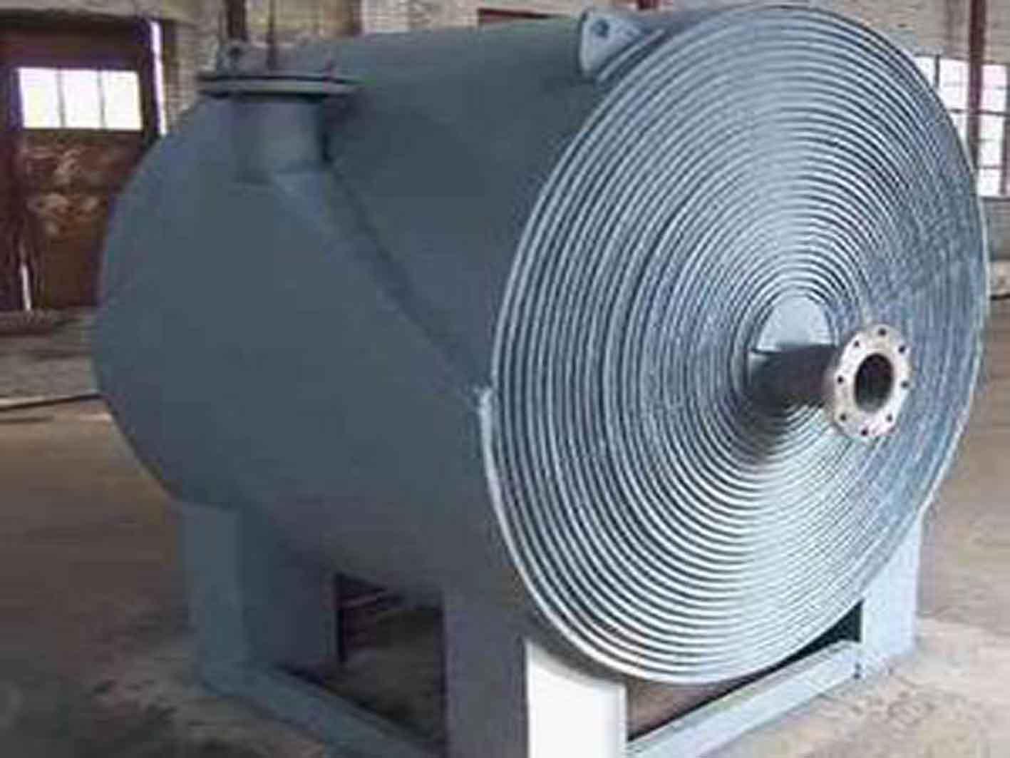 螺旋板换热器某些部位容易积存污垢