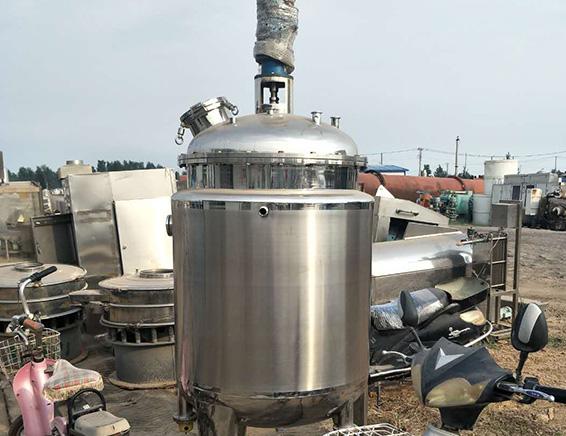 不锈钢反应釜中的气液分散问题