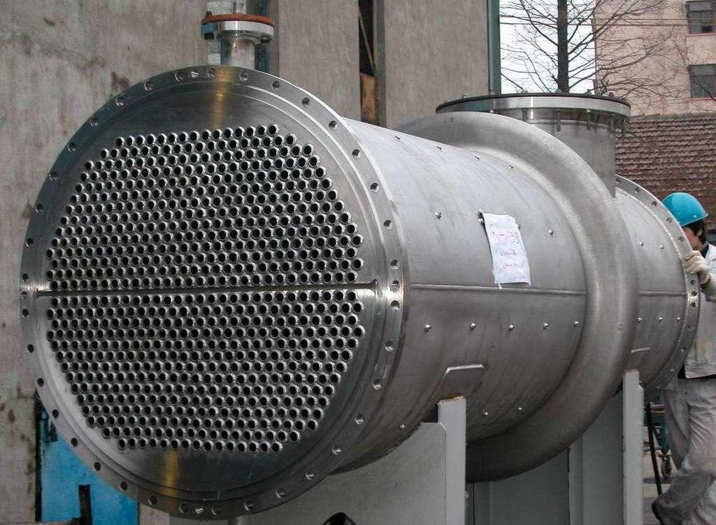列管冷凝器的除霜及融霜工作