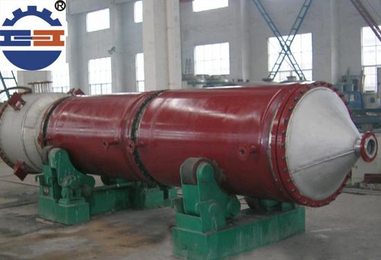 刮板蒸发器结构对流体传热性能的影响