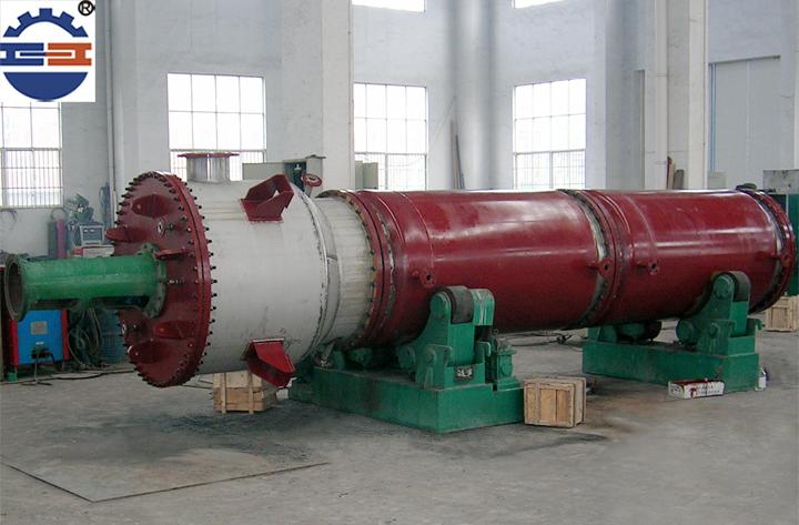 刮板蒸发器的机身结构介绍