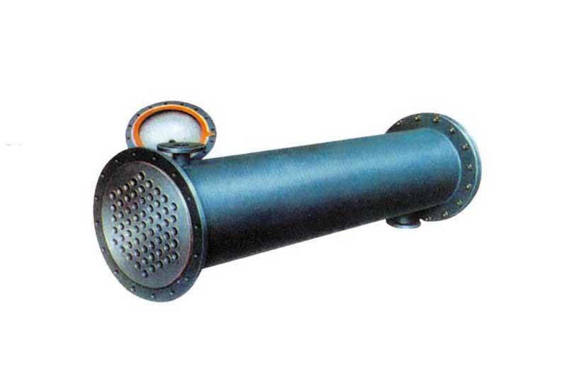列管冷凝器的管板焊缝处渗漏