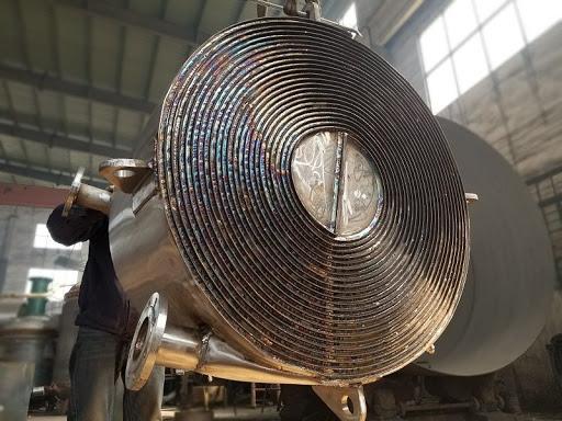 镀锌板可以用来制造螺旋板式换热器吗