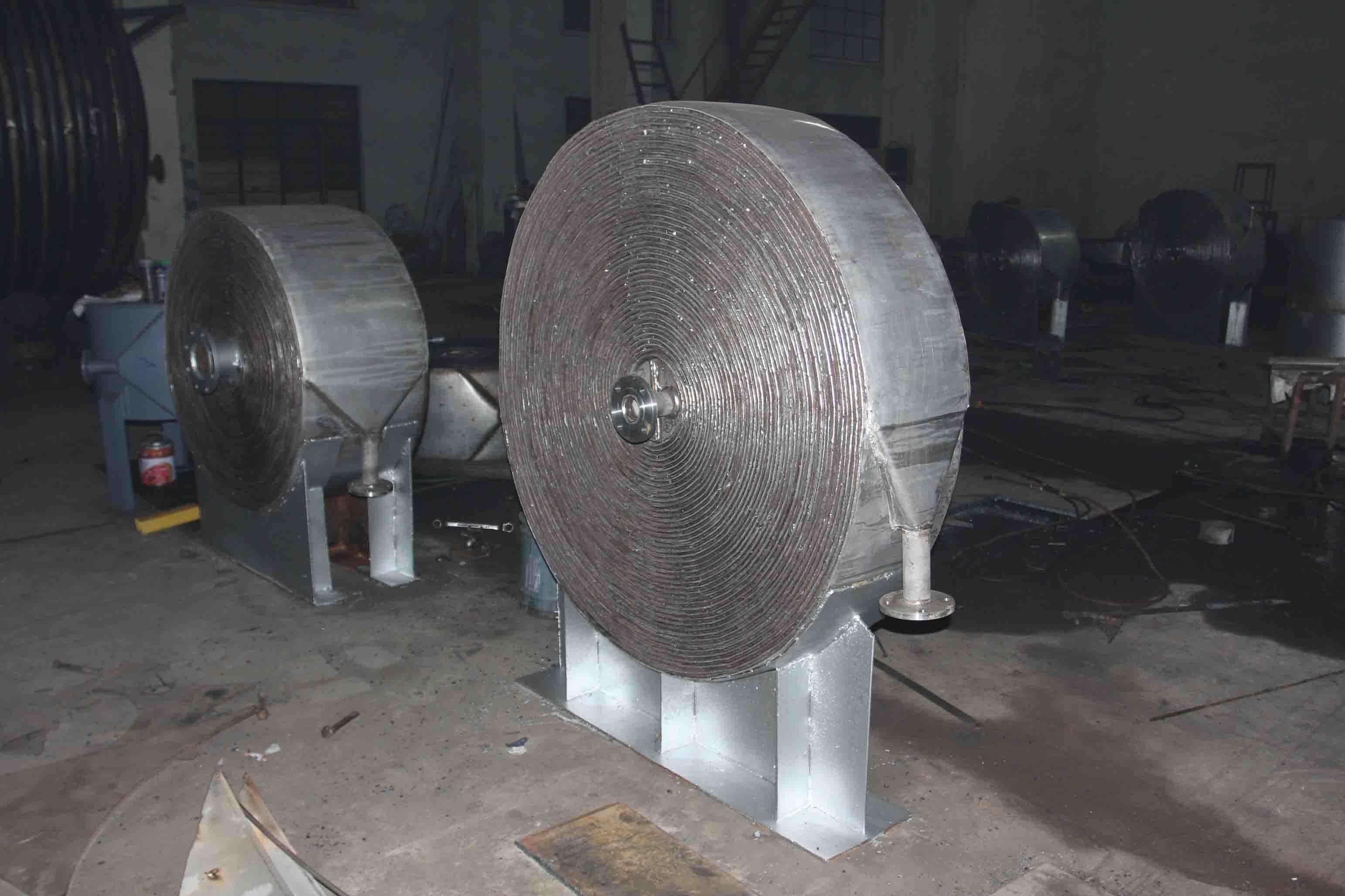 螺旋板换热器的液压试验标准是怎样的